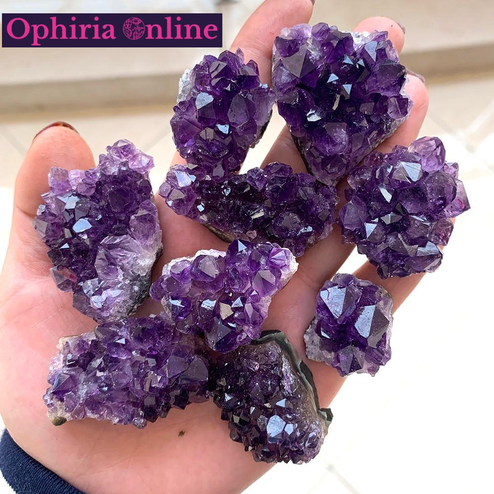 Natural Raw Amethyst Healing Crystal